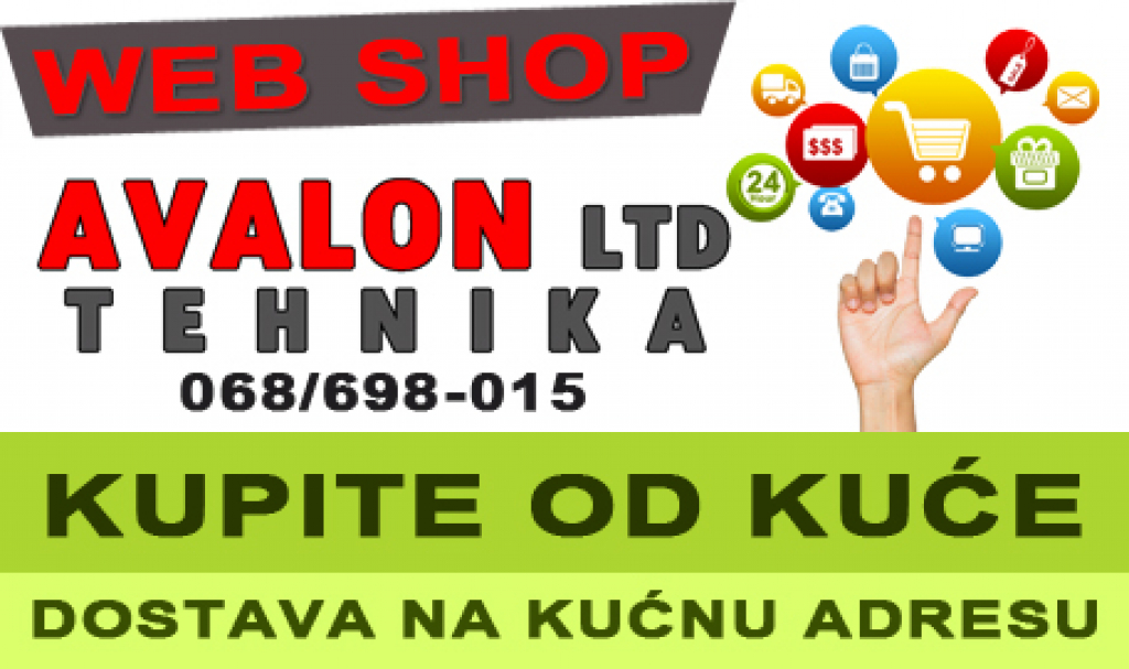 Online shop, avalon ltd pljevlja, crna gora, avalon