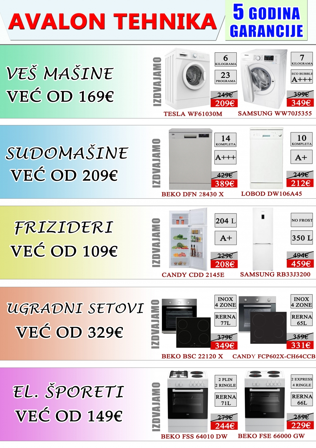 katalog, jun, crna gora, pljevlja, avalon ltd, akcija