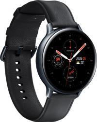 Satovi - Samsung R820 Galaxy Watch Active 2 44MM Stainless Steel, Black - avalon ltd