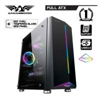PC računari-DYNAMIC *** Case NIMITZ N7, RGB LED,CPU INTEL Core i3-9100F 3.60GHz, RAM 8GB 2400MHz DDR4, SSD 250 GB RGB-Lightning, VGA NVidia GTX 1050Ti 4GB DDR5