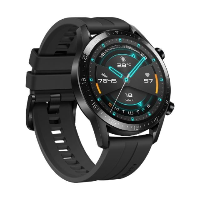 Pametni satovi i oprema - HUAWEI WATCH GT 2 SPORT 46MM BLACK SMARTWATCH - Avalon ltd