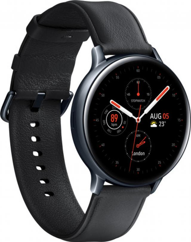Pametni satovi i oprema - Samsung R820 Galaxy Watch Active 2 44MM Stainless Steel, Black - Avalon ltd