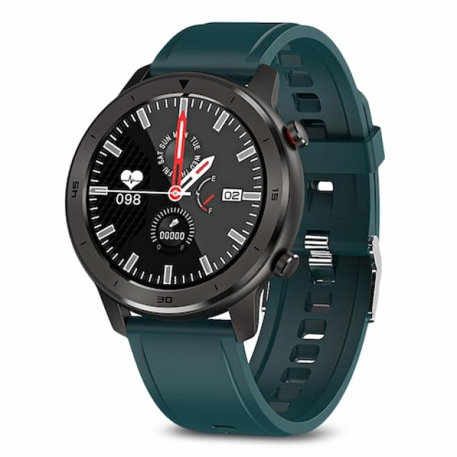 Pametni satovi i oprema - MOYE WATCH DT78 GREEN SILICONE STRAP-BLACK - Avalon ltd